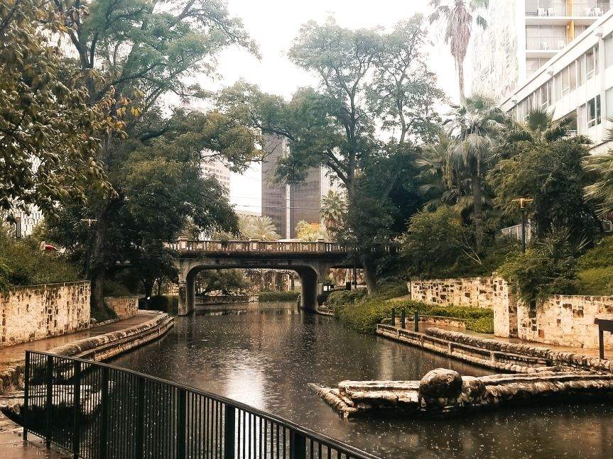 View of the San Antonio Riverwalk