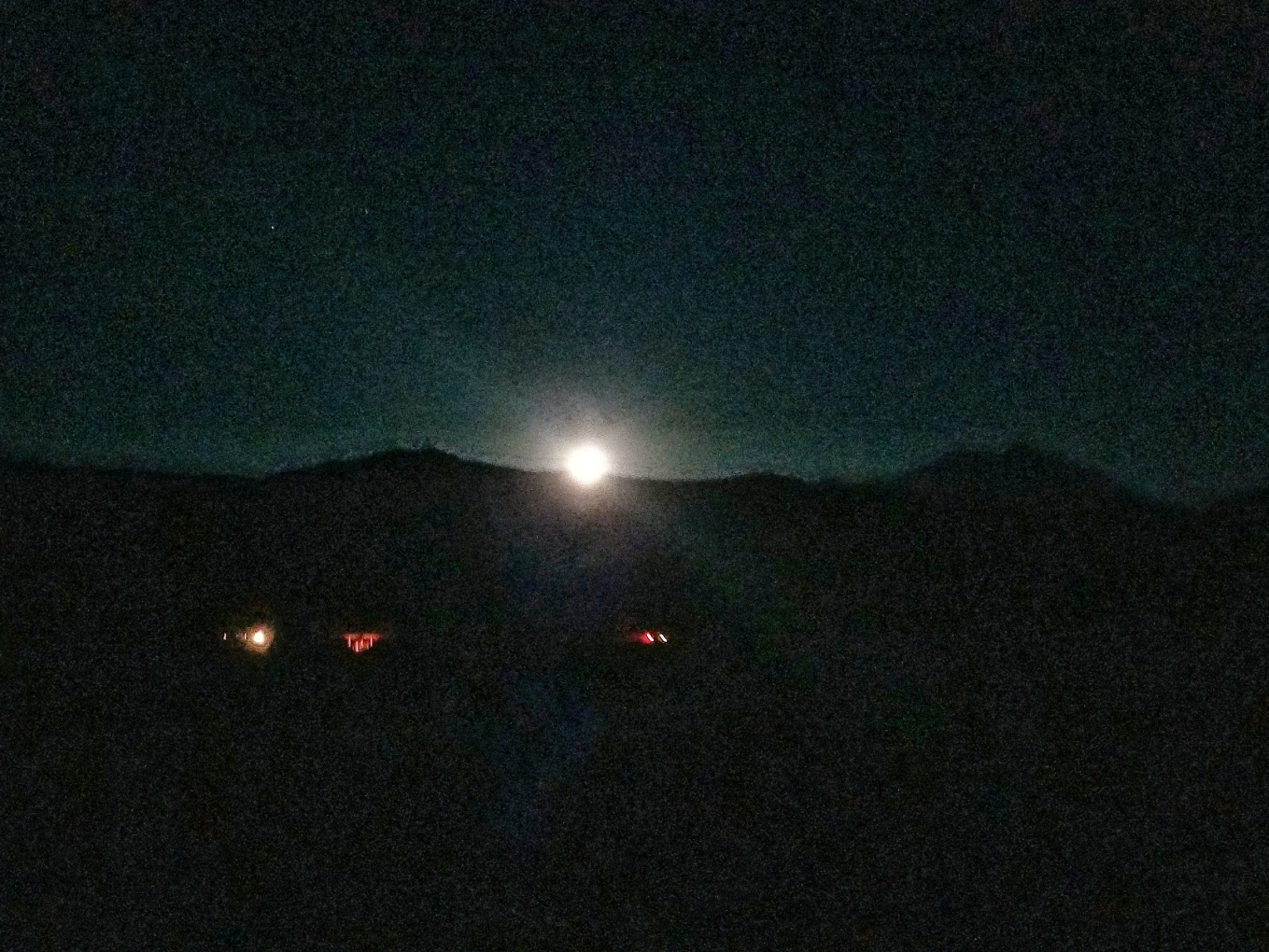 Full Moon at Ken's Lake, UT