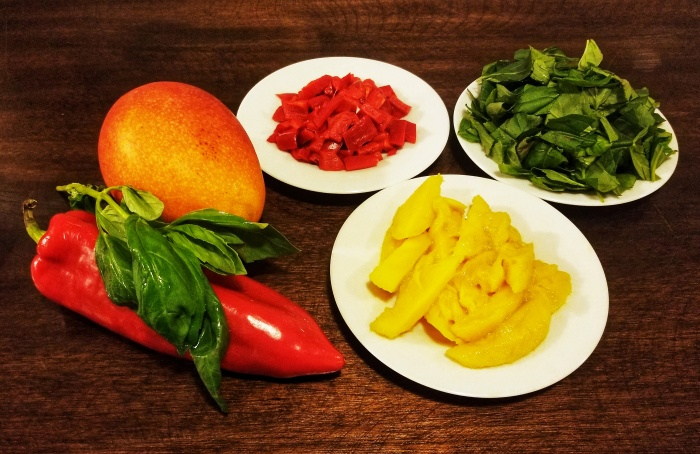 Mango-Roasted Red Pepper Infusion