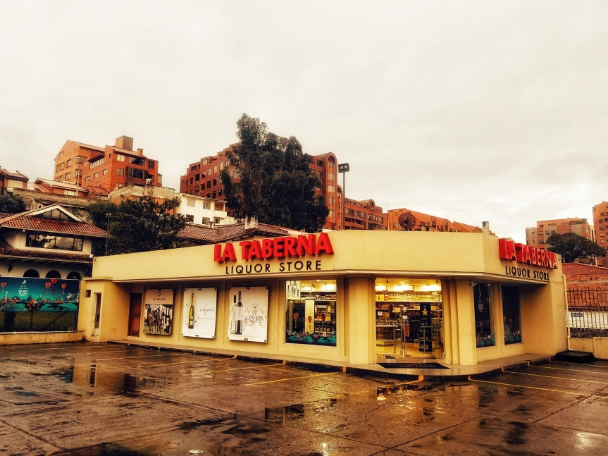Local liquor chain, La Taberna