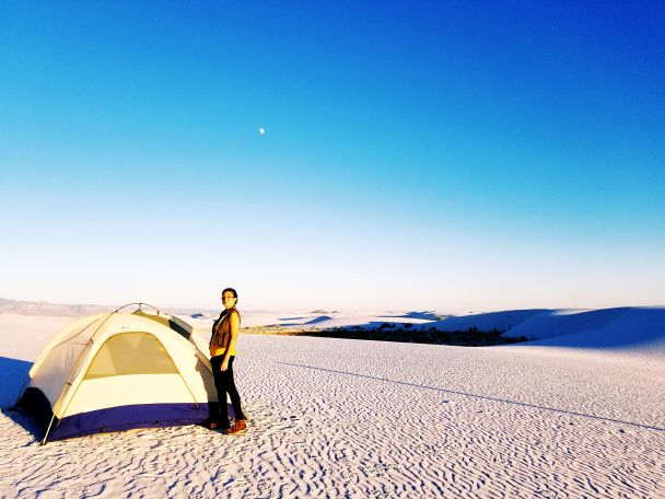 Backcountry Camping Loop, White Sands National Monument