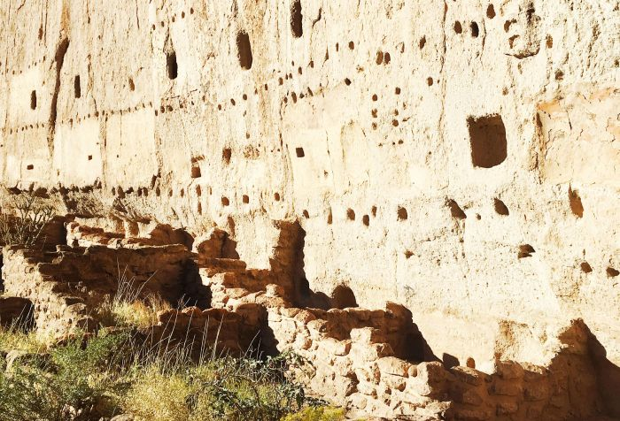 The Long House at Bandelier National Monument, NM