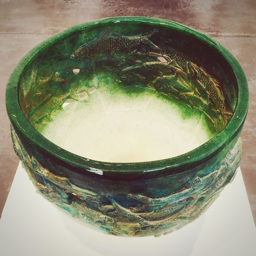 Bowl by Charles Miner at LewAllen Gallery in Santa Fe, NM