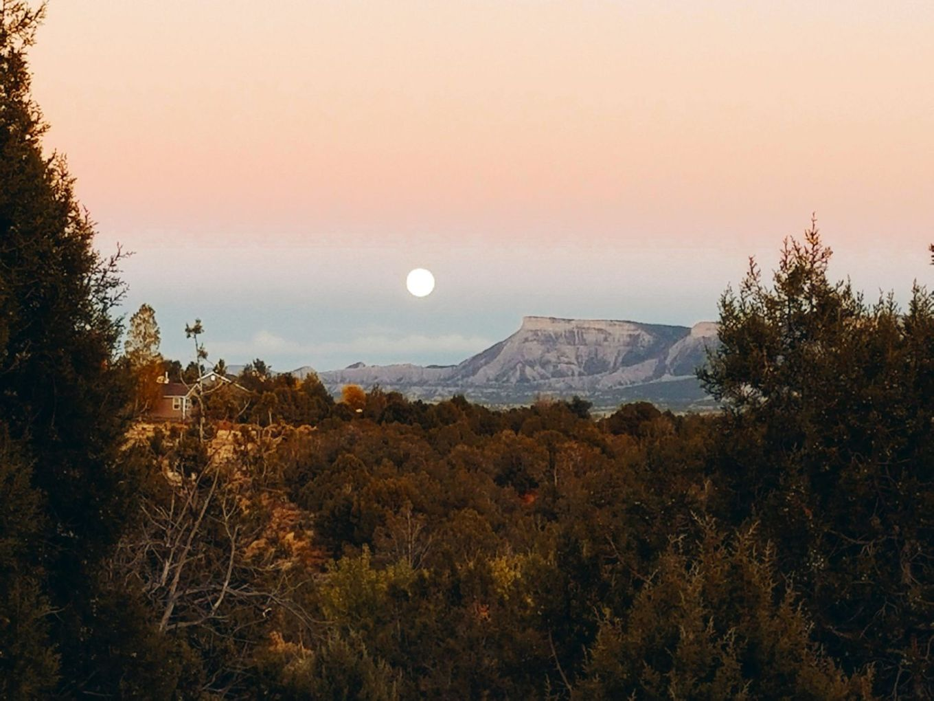 Colorado Moonrise