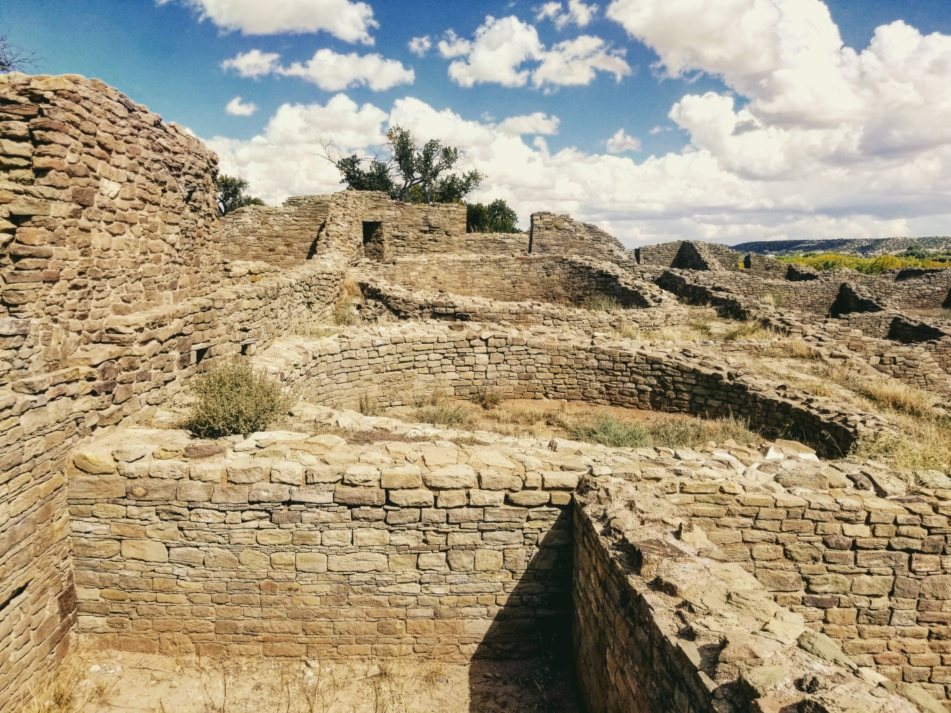 The Great House at Aztec Ruins National Monument, NM