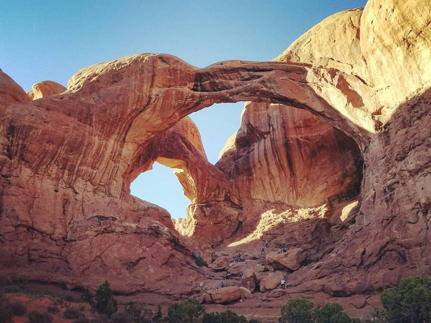 Double Arch, Arches National Park, UT