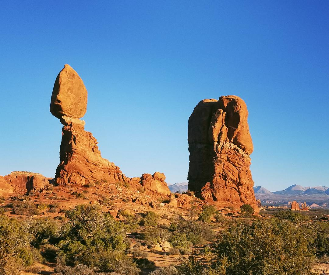 Balanced Rock, Arches National Park, UT