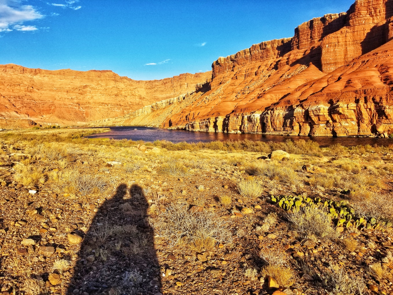 Shadows at Glen Canyon National Recreation Area