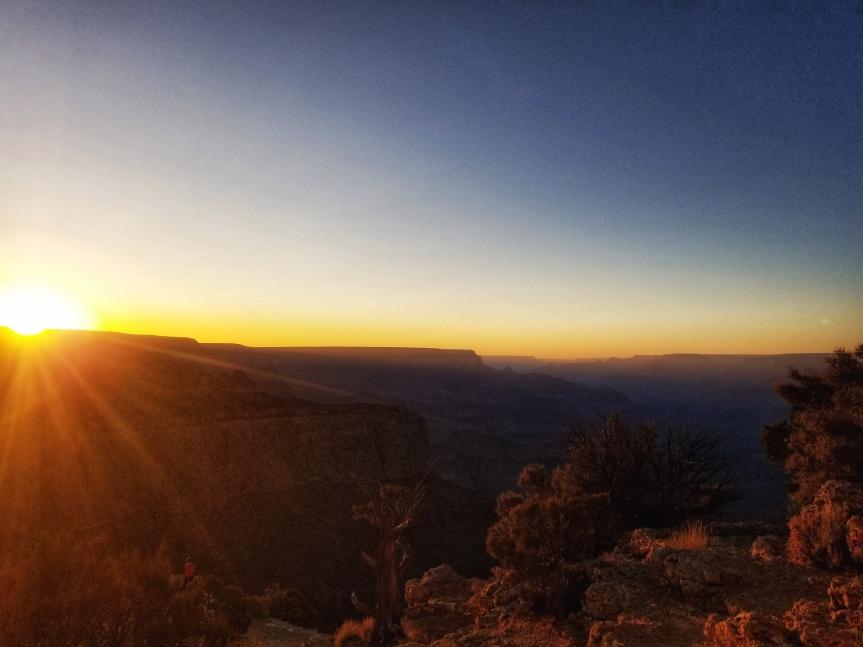 Sunset at Moran Point, Grand Canyon National Park, South Rim