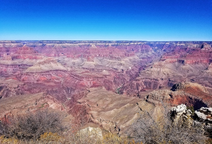 Vista in Grand Canyon National Park, South Rim