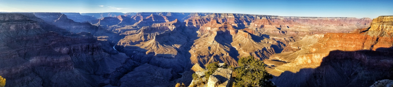 Panoramic View at Pima Point, Grand Canyon National Park, South Rim