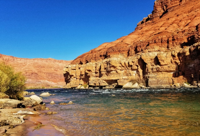The Paris Riffle at Glen Canyon