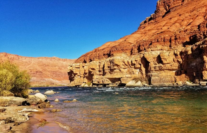 The Paris Riffle at Glen Canyon