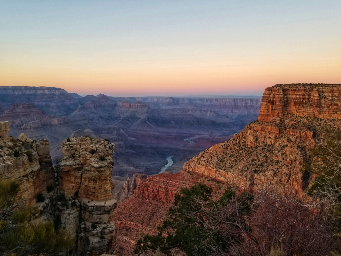 Grand Canyon South Rim Sunset