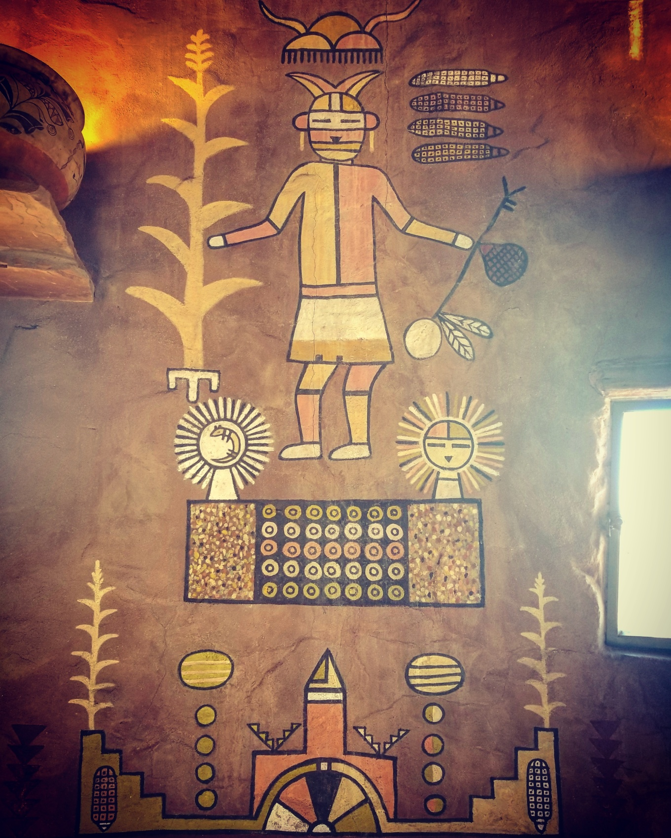 Desert Watchtower Mural, Grand Canyon