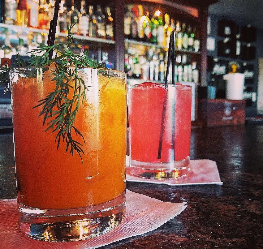 Cocktails at Atomic Liquors, Las Vegas, NV