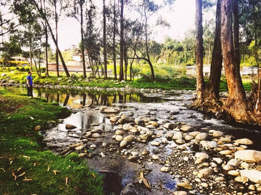 Rio Yanuncay, Cuenca, Ecuador
