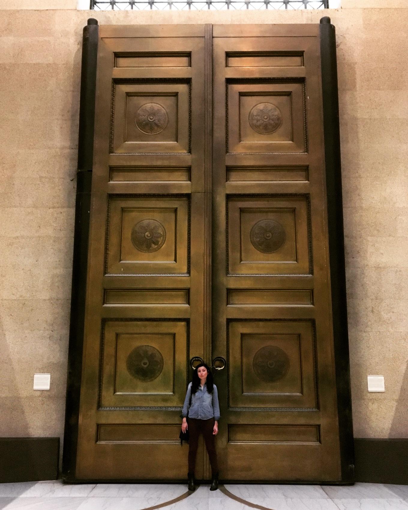 Parthenon Bronze Doors
