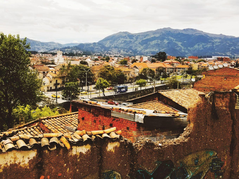 The View From Plazoleta del Vado, Cuenca, Ecuador
