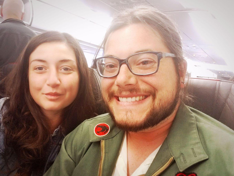 Y and J En Route to Cuenca, Ecuador