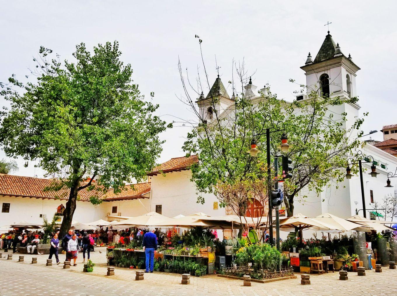 The Flower Market, Cuenca, Ecuador