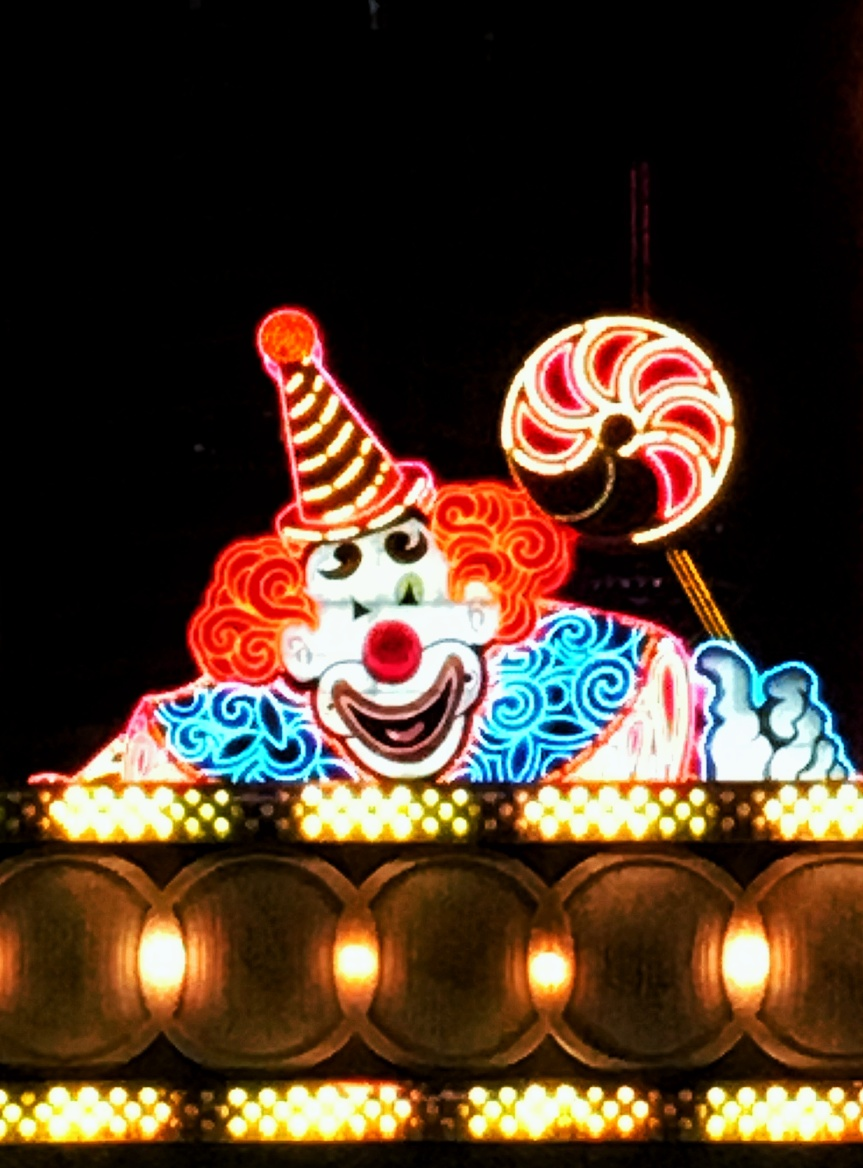 The Circus Circus neon sign, Las Vegas, NV
