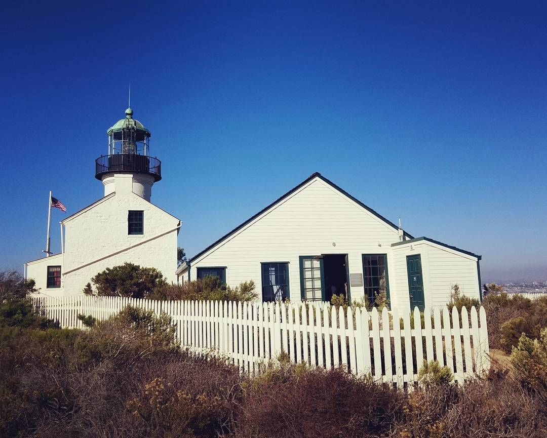 The Lighthouse at Cabrillo National Monument, San Diego, CA