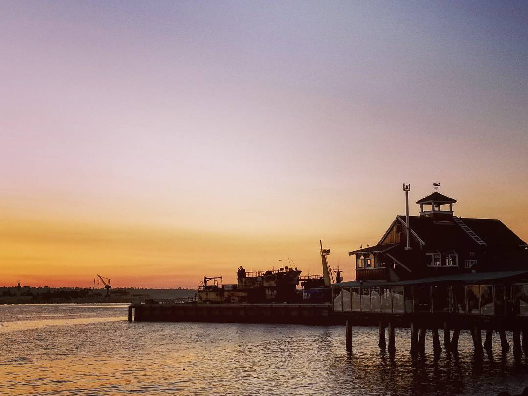 Pier at Seaport Village, San Diego, CA