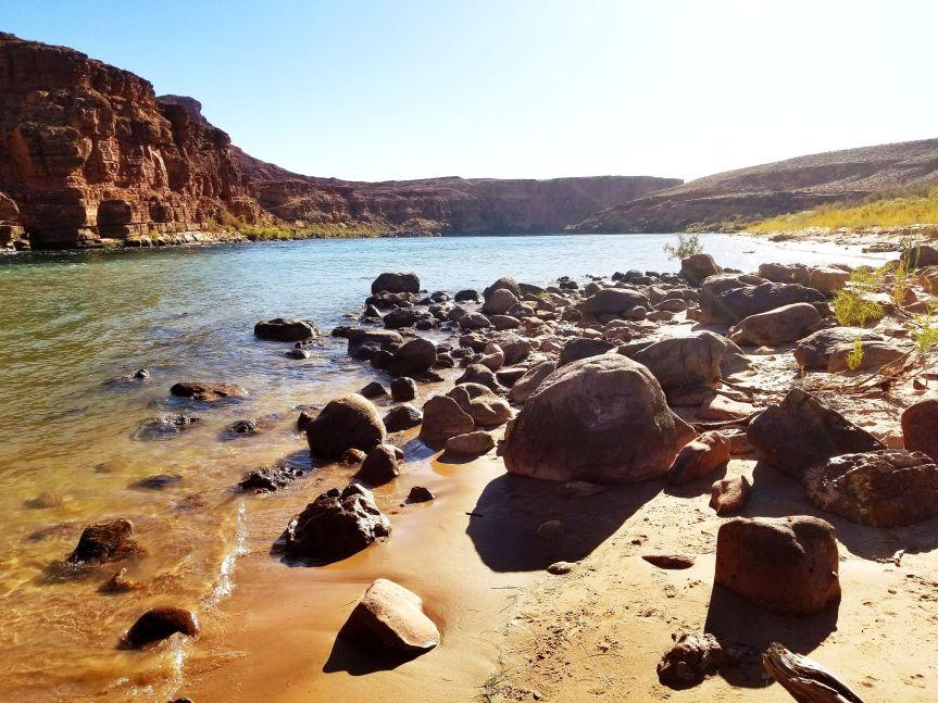 Colorado River Beach at Glen Canyon National Recreation Area, AZ