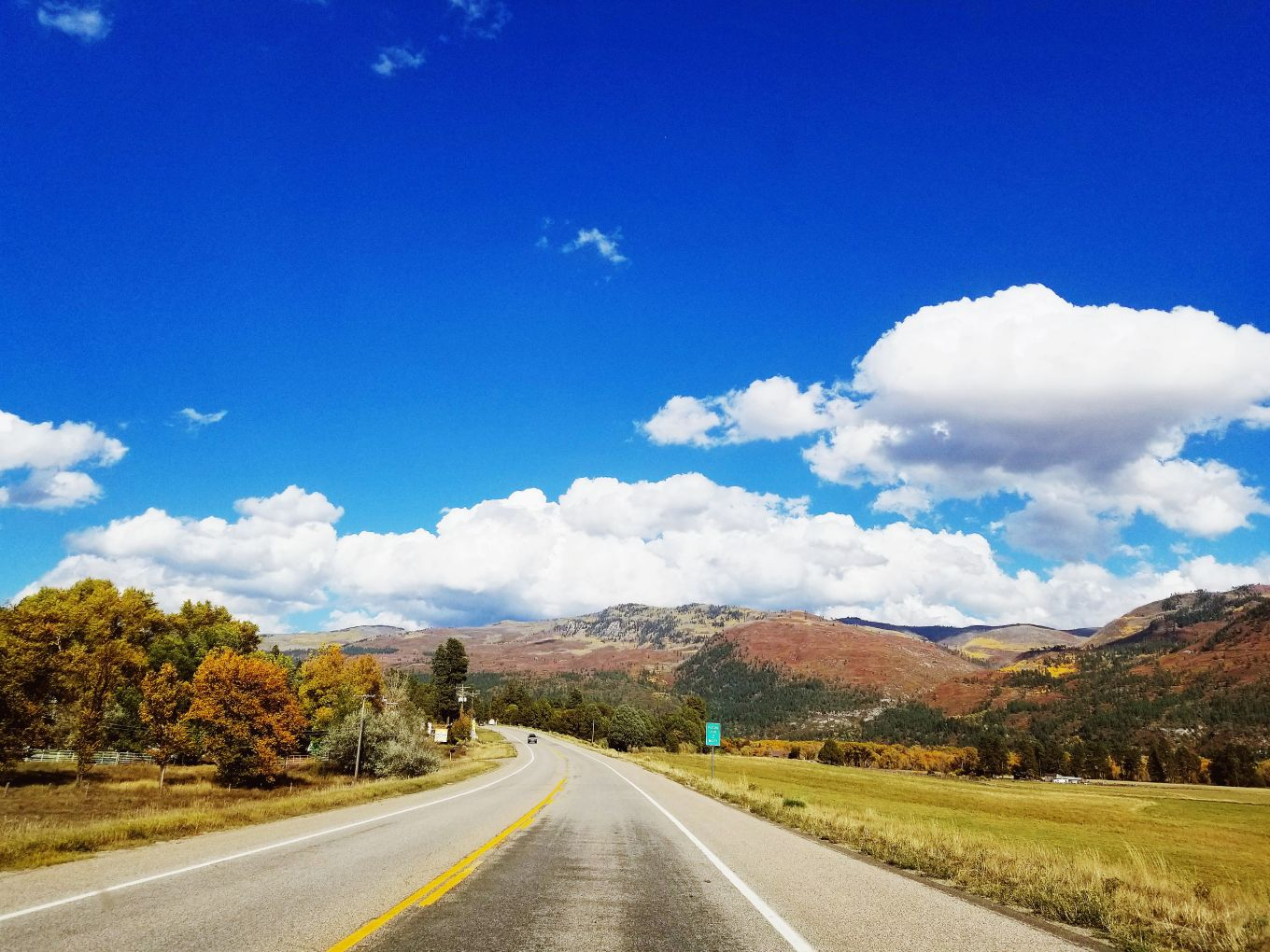 Majestic Colorado Road