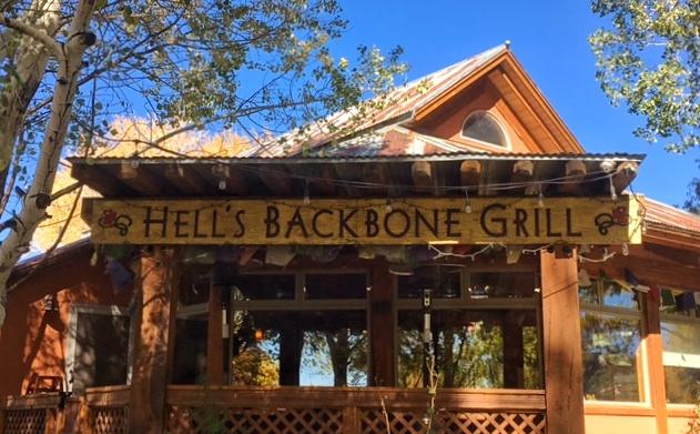 Hells Backbone Grill Boulder UT