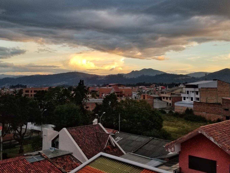 Cotton Candy Sunset in Cuenca, Ecuador