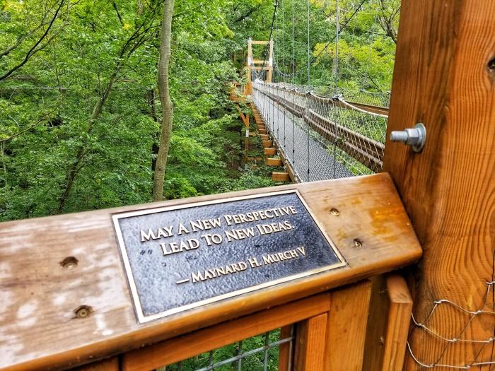 Holden Arboretum Bridge Wisdom