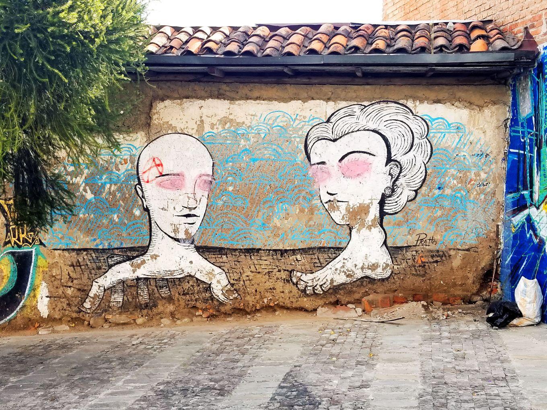Street Art Cuenca, Ecuador