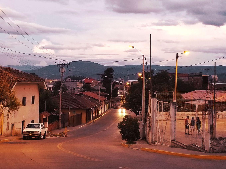 Hilltop Sunset In El Batán Cuenca, Ecuador