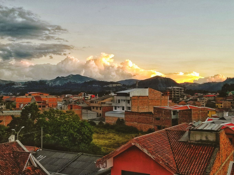 Sunset Over Cuenca, Ecuador