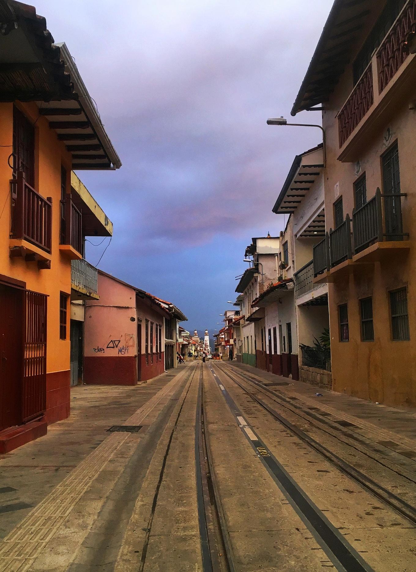 Centro Histórico Street View, Cuenca, Ecuador