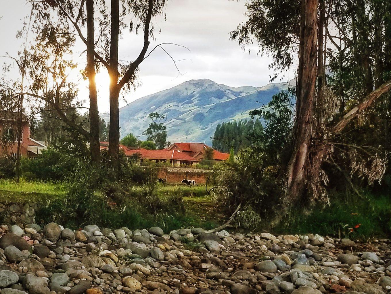 Scenery in Cuenca, Ecuador