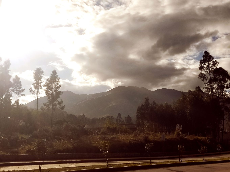 Andes Mountains, Cuenca, Ecuador