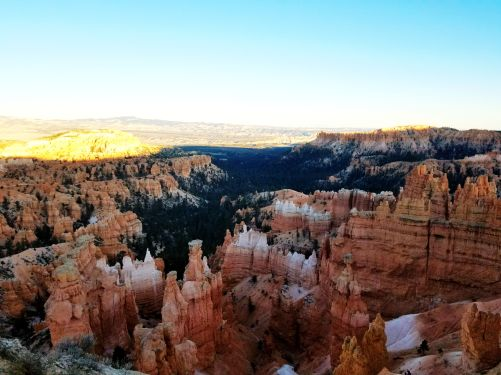 Early evening at Bryce Canyon, Utah