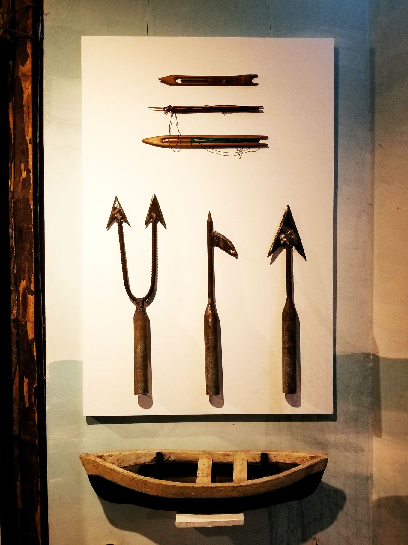Fishing tools, Museo Pumapongo