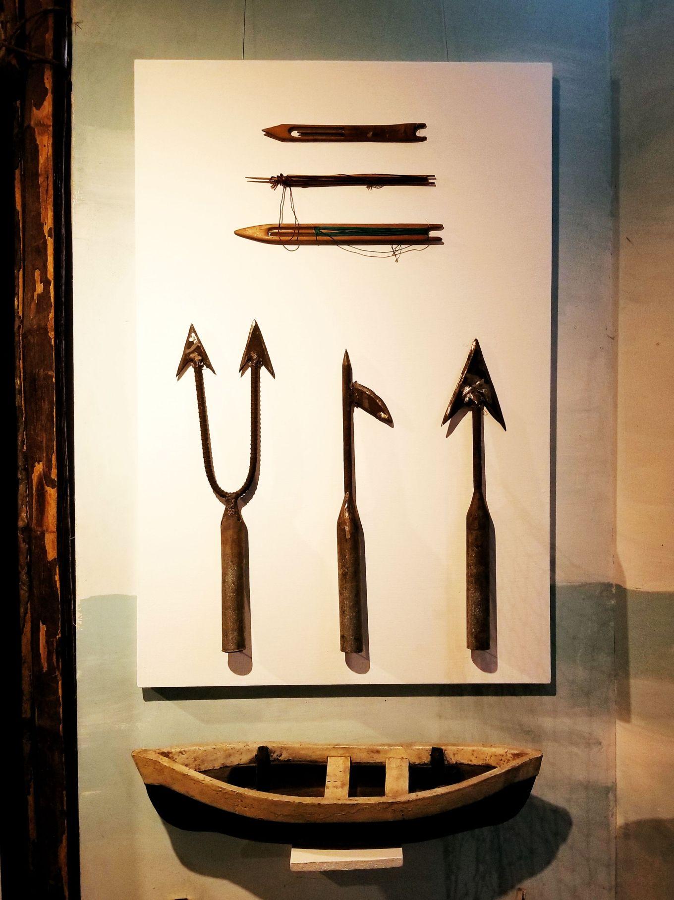 Fishing tools, Museo Pumapongo