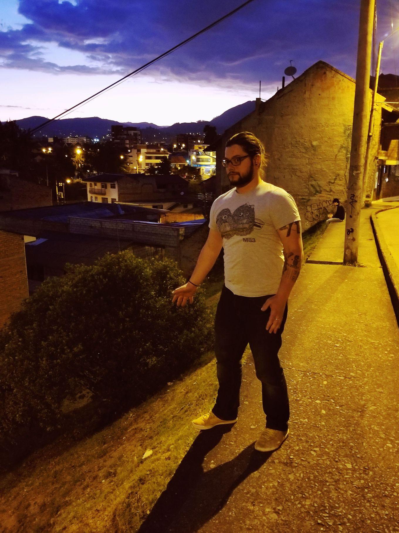 Steep Hillside, Cuenca, Ecuador