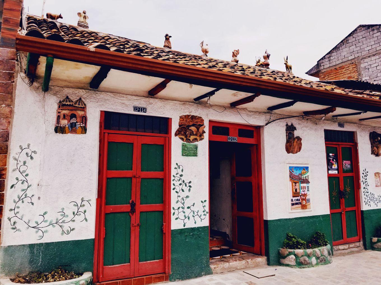 Edifice of Casa Museo la Condamine, Cuenca, Ecuador