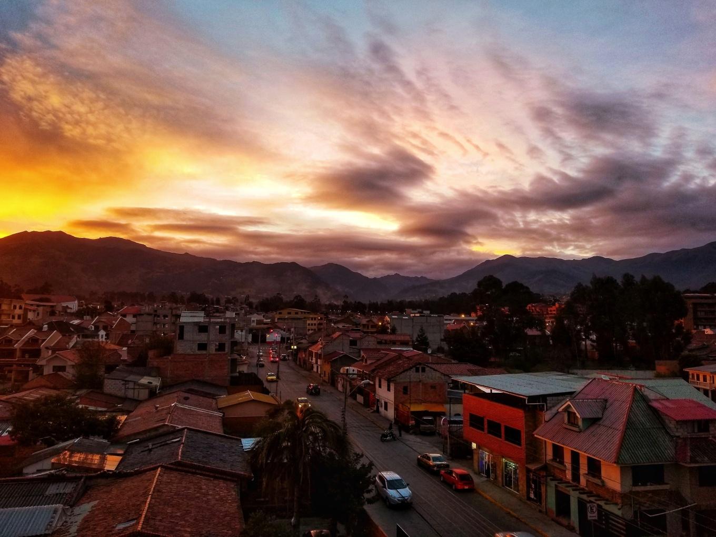Sunset in Cuenca, Ecuador