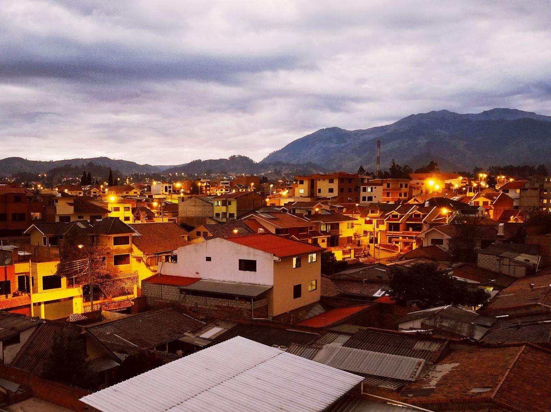 Cuenca, Ecuador in the Evening