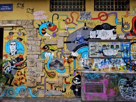 Graffiti, Cuenca, Ecuador