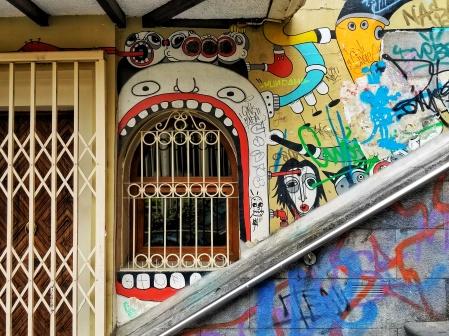 Graffiti Grill, Cuenca, Ecuador