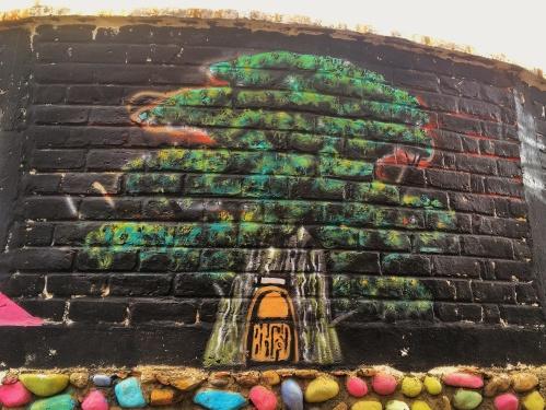 Tree Mural, Cuenca, Ecuador
